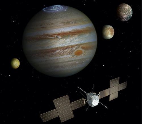 La mission JUICE. Crédit : ESA