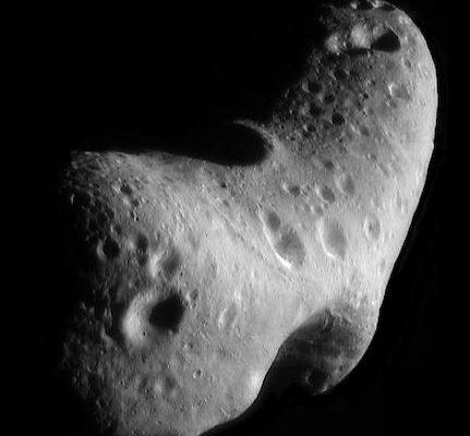 433 Eros. Crédit : NASA/JPL/JHUAPL