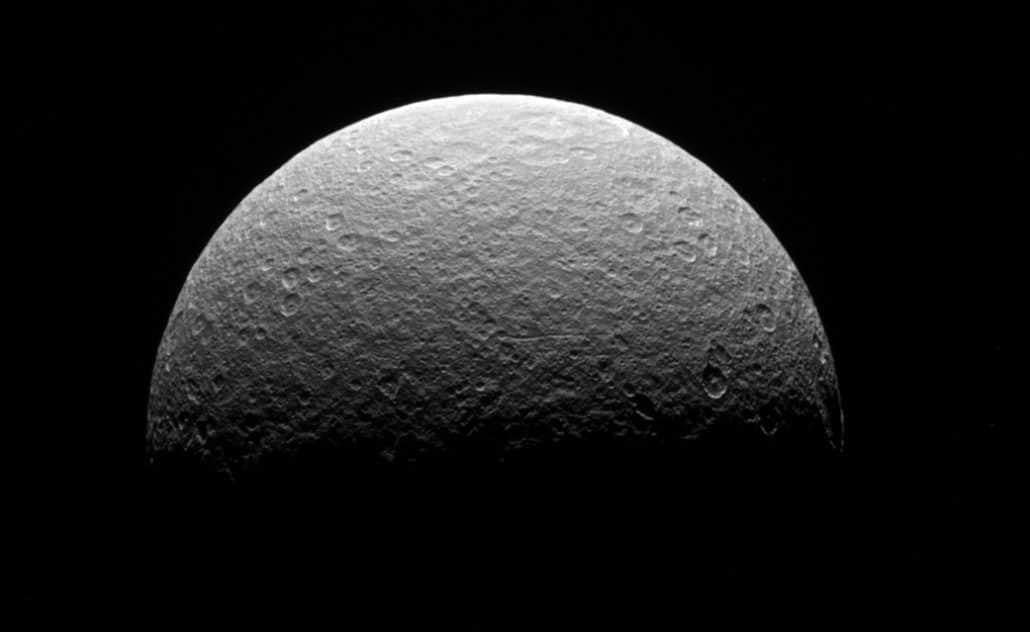 Rhéa Crédit : NASA/JPL-Caltech/Space Science Institute
