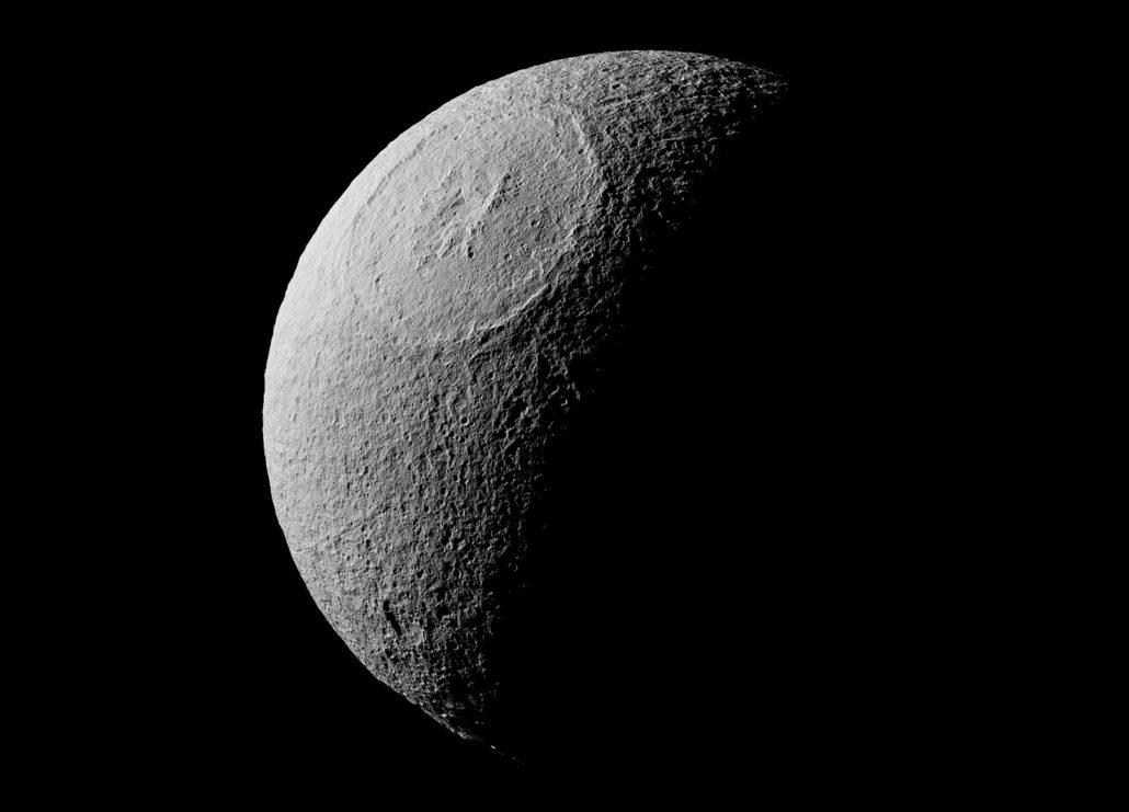 Téthys Crédit : NASA/JPL-Caltech/Space Science Institute